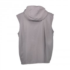 Vesta Aqua - High Neck Grey Gilet Hooded Aqua Vesta - High Neck Grey Gilet Hooded M