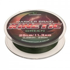 Splétaná šňůra Kinetic Marker Braid 250m, 25lb (11.3kg) 0.28mm