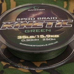Splétaná šňůra Kinetic Spod Braid, 250m, 35lb (15.9kg) 0.36mm
