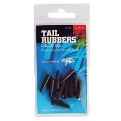 Převlek na závěsku Tail Rubbers Green/10ks ( 20mm )